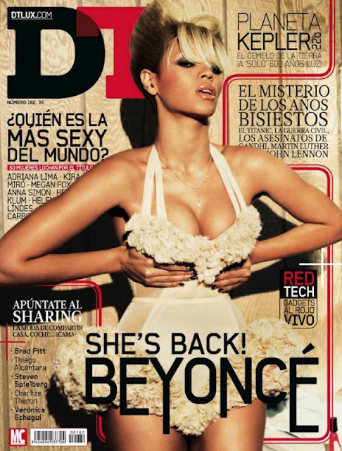 Beyonce covers this months issue of DT Magazine. Besides having an amazing ...